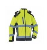 VWJK177 Yüksek Görünürlüklü Kontrast Softshell Ceket Sarı