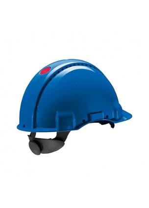 3M G3000NBB Mavi Havalandırmalı Vidalı UV'li  Baş Koruyucular