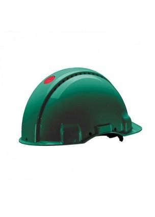3M G3000NGP Yeşil Havalandırmalı Vidalı UV'li  Baş Koruyucular