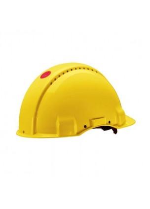 3M G3000NGU Sarı Havalandırmalı Vidalı UV'li  Baş Koruyucular