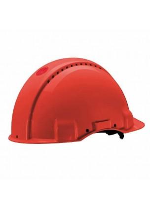 3M G3000NRD Kırmızı Havalandırmalı Vidalı UV'li  Baş Koruyucular