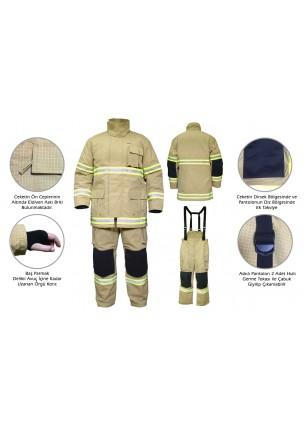 UPB-CEO1 Yangına Yaklaşma Elbisesi / İtfaiyeci Elbisesi
